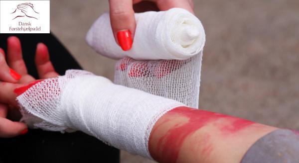 Førstehjælp ved blødninger